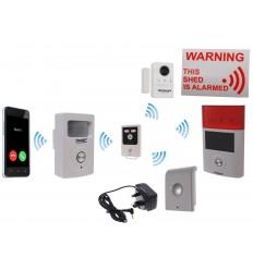 Mains powered 3G UltraPIR GSM Shed Alarm