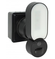 Compact Wi-fi Floodlight Camera - 1080P Cameras - 800 Lumens Light - Recording & Customized Alerts