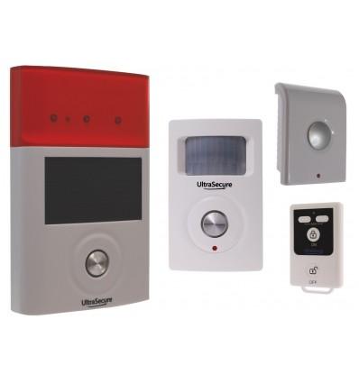 BT Wireless PIR, Internal & External Sirens Shed & Garage Alarm System