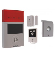 BT Wireless Door Alarm, Internal & External Solar Siren