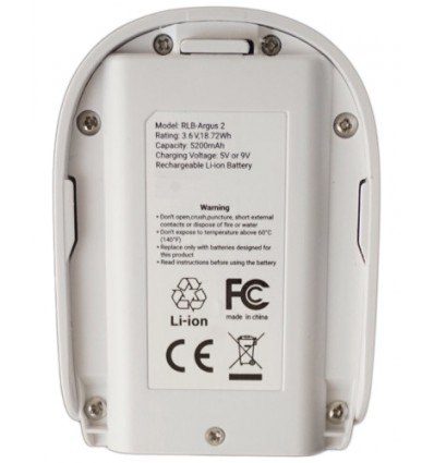 Battery For Reolink Argus 2 Camera