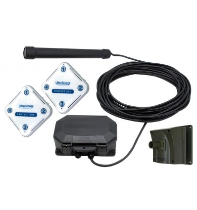 Protect-800 Wireless Vehicle Probe, PIR & 2 x Receivers Driveway Alarm