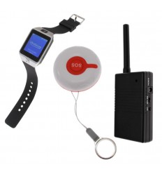 SOS Alert Watch & Repeater System