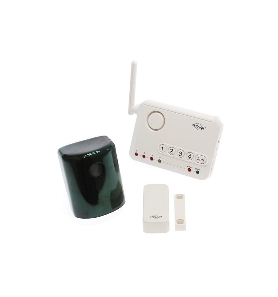 80 Metre External Wireless Pir Amp Door Contact Driveway