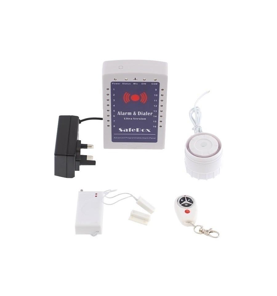 wireless gsm alarm kp mini wireless alarm system 2 diy rh ultrasecuredirect com