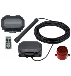 Long Range Driveway Metal Detecting Alarm with Outdoor Receiver & Adjustable Siren