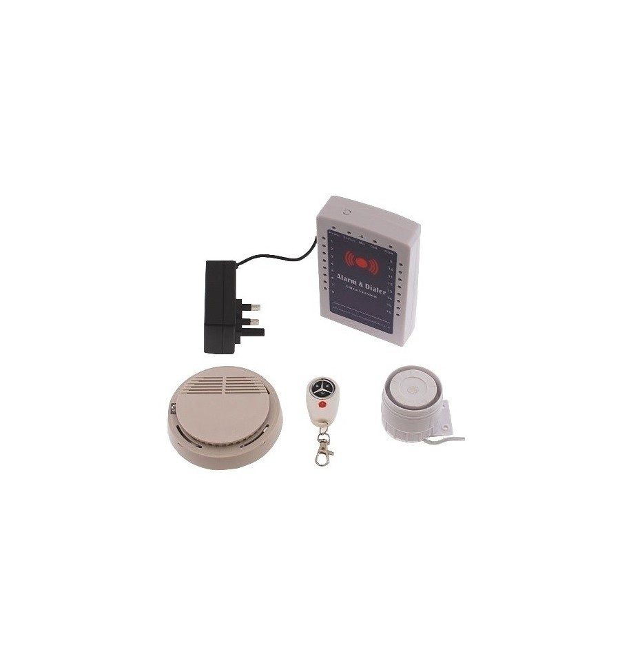 wireless gsm smoke alarm kp mini gsm smoke alarm. Black Bedroom Furniture Sets. Home Design Ideas