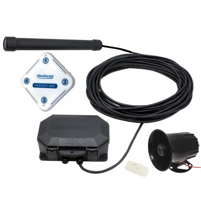 Protect-800 Wireless Vehicle Detecting Driveway Alarm with Loud Siren