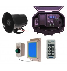 Wireless Commercial Siren Kit with Heavy Duty Push Button