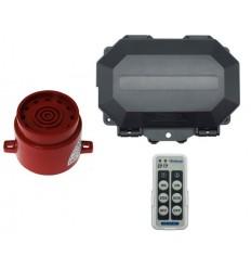 Protect 800 Outdoor Wireless Receiver with an adjustable Weatherproof Siren