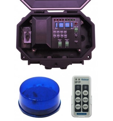 Protect 800 Outdoor Receiver with Blue Flashing LED Strobe