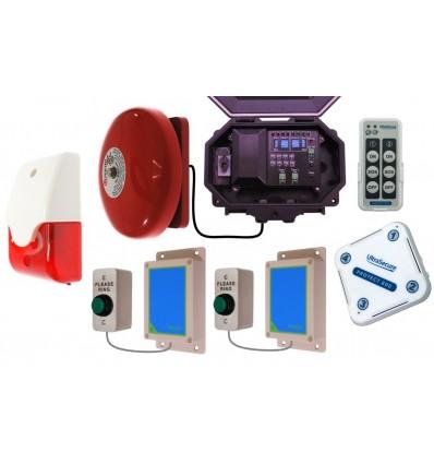 Two Doorbell Wireless Commercial Doorbell