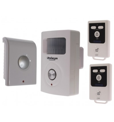 BT Wireless PIR Alarm with 2 x Remote Controls & additional Siren