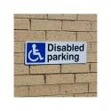External Disabled Parking Sign