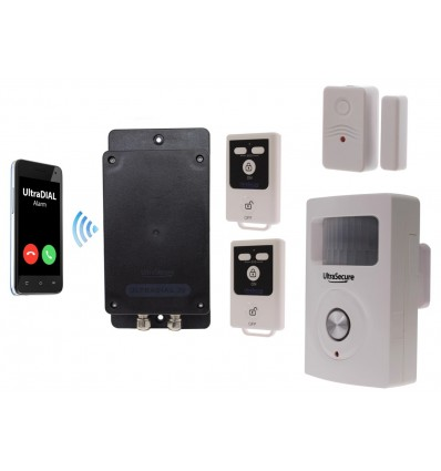 'The UltraDIAL' Battery GSM Alarm
