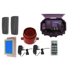 Photo Cell Wireless Driveway & Entrance Siren Kit