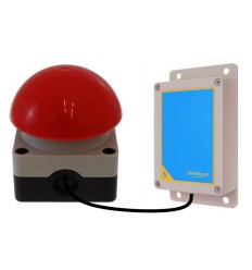 Additional Push Button & Transmitter for the 1800 metre Wireless 'S Range' Panic Alarm (activity centre special)
