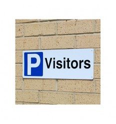 External Visitor Wall Mounting Parking Sign