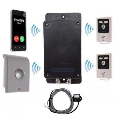 UltraDIAL Battery 3G GSM Vibration Alarm Kit