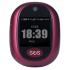 4G GSM GPS Pendant (maroon colour)