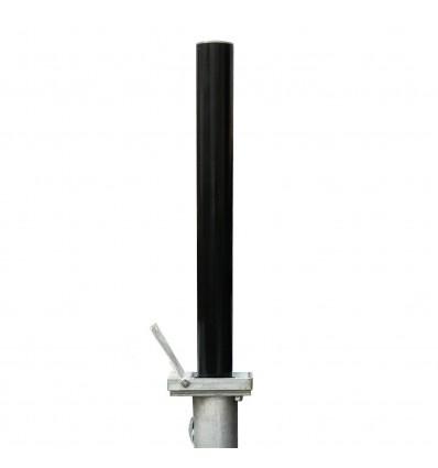 Black TP-200 Telescopic Security Post
