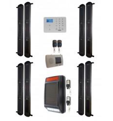 Complete 3B Wireless Perimeter Alarm with 3G GSM Auto-Dialler & Solar Siren