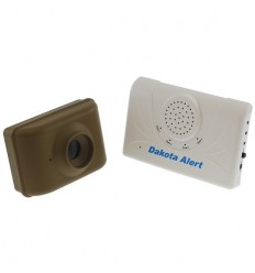 DCMA Driveway & Perimeter Alarm with Long Range Wireless (800 metre) Transmission back to the 4-channel Receiver