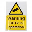 A4 External CCTV Warning Sign (English Language)