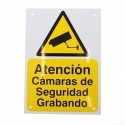 A5 External CCTV Warning Sign (Spanish Language)