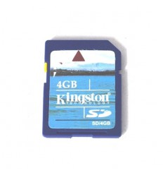 4 GB Standard Size SD Card