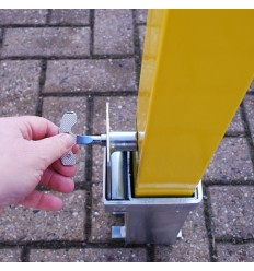 100P Removable Security Post & Locking Tool.