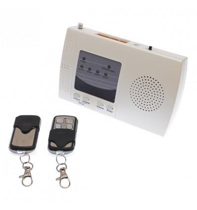 Indoor 4 - Channel Wireless Perimeter Alarm Receiver & 2 x Remote Controls