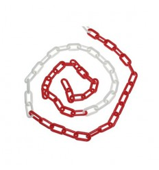 Red & White Plastic Chain