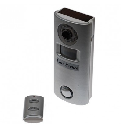 Remote Control Battery Alarm & Hidden CCTV (silver)