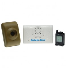 DCMA Wireless Driveway Alarm & Pager Special Offer Kit