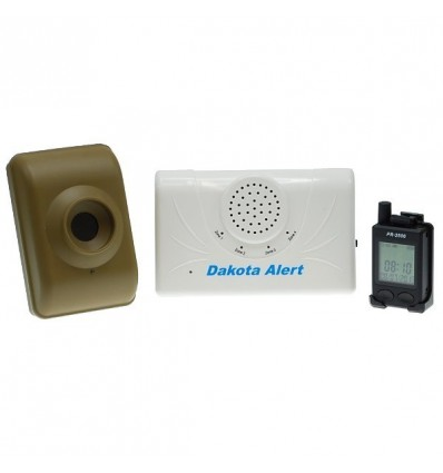 700 metre Wireless DCMA & Pager Kit Driveway Alarm
