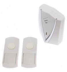 Wireless Portable Alert & 2 x Push Buttons.