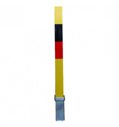 Removable 100P Bollard with Reflective Strip