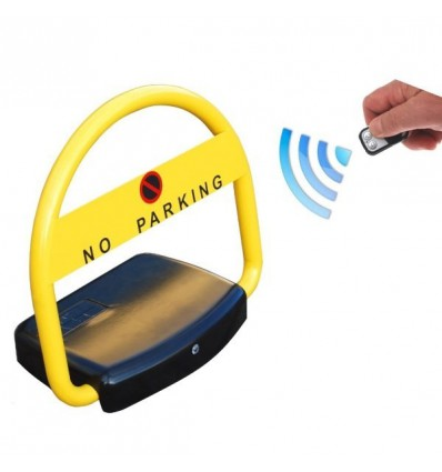 Solar Powered Automatic Parking Hoop Post Remote Control