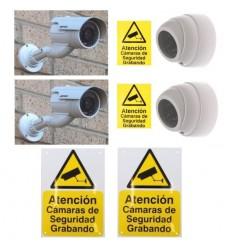 Dummy Camera & Sign Pack (Spanish)