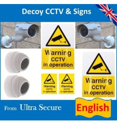 Dummy Camera & Sign Pack (English)