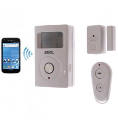 GSM Wireless PIR & Door Contact Alarm|UltraPIR|Battery ...
