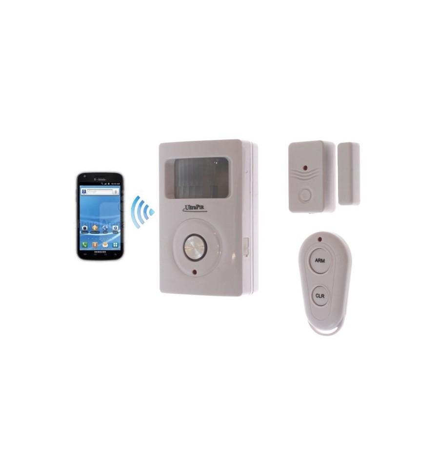 Gsm Wireless Pir Amp Door Contact Alarm Ultrapir Battery