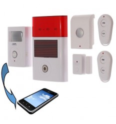 Delux Plus Battery Powered UltraPIR GSM Alarm System