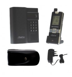 Electronic Gate Lock & Wireless Intercom with Keypad