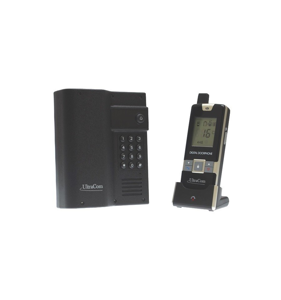 Electronic Gate Lock Amp Wireless Intercom With Keypad