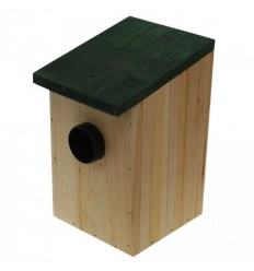 Battery Powered External Visitor Speech Alert in a Bird-box