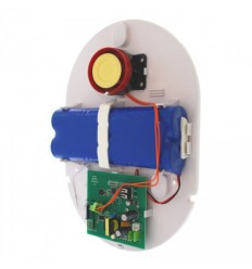Battery Powered Universal Wireless Siren & Strobe