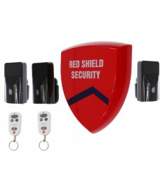 Battery Siren Wireless Alarm (smart) & 3 x External PIR's.