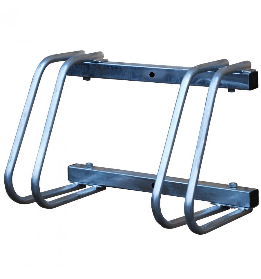 Bike Rack Wall Mounting Twin Steel Heavy Duty